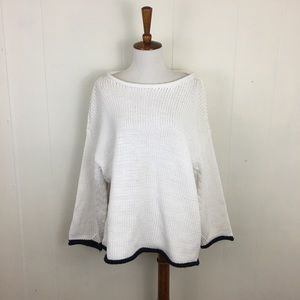 Lou & Gray Oversized Roll Neck Knit Sweater